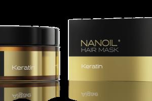 Nanoil z keratyną - maska do włosów, która działa tak, jak chcesz