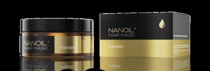 Nanoil z keratyną – w końcu maska do włosów, która działa tak, jak chcesz!